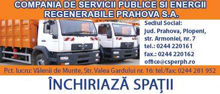 Compania de Servicii Publice si Energii Regenerabile Prahova