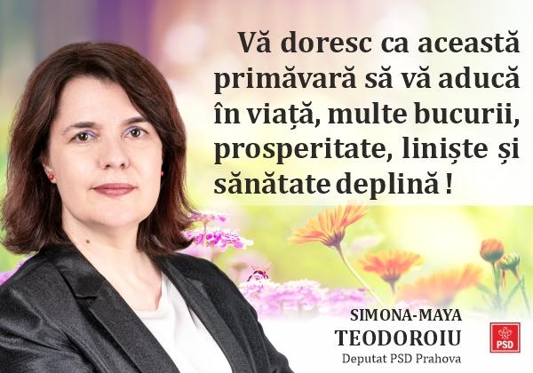 Maya Teodoroiu martie 2021
