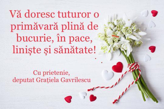Gratiela Gavrilescu martie 2021
