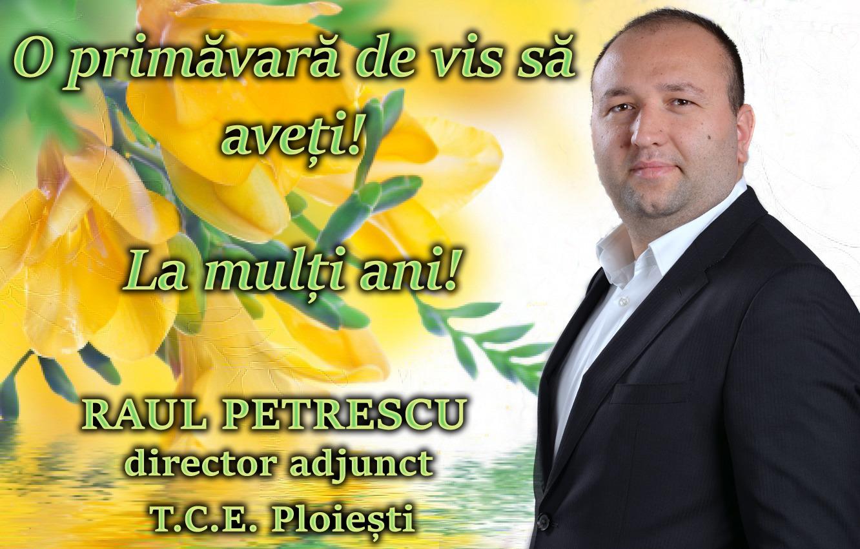 Raul Petrescu martie 2021