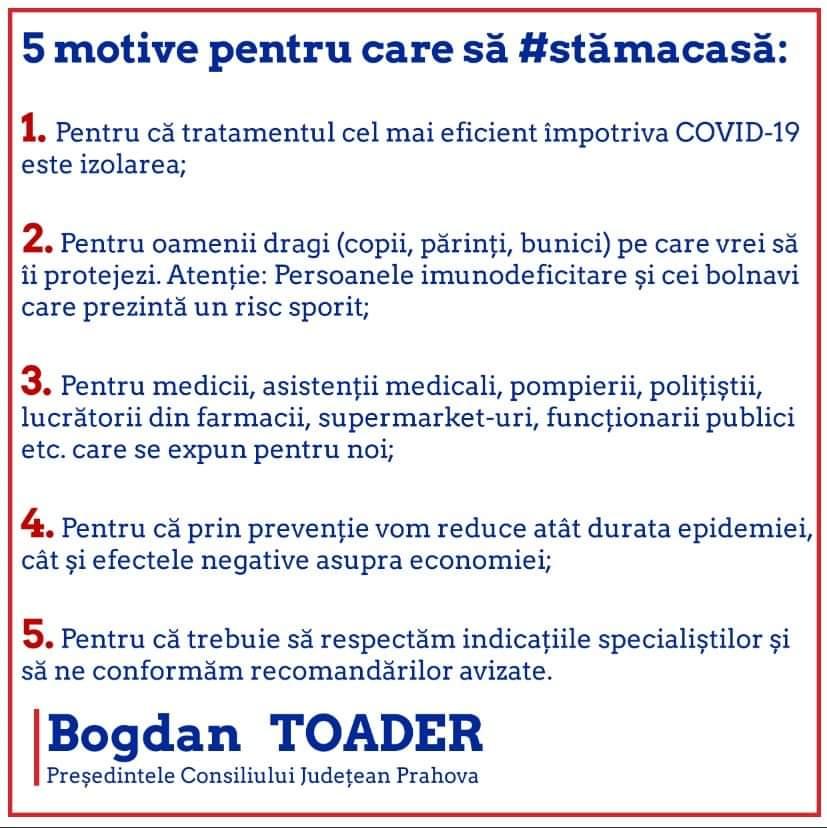 Bogdan Toader - Presedintele Consiliului Judetean Prahova