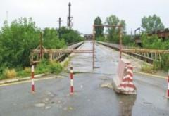 Podul de lemn va fi demolat. Primaria plateste 5 milioane de euro pentru constructia unui nou pasaj