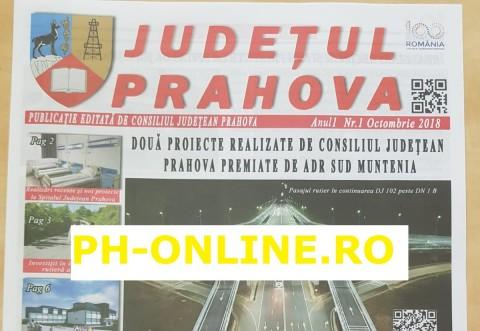 Consiliul Judetean Prahova si-a facut ziar tiparit. Cum poti intra in posesia lui