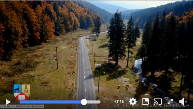 Consilul Judetean a asfaltat drumul care duce la Gura Diham. Ce spune Bogdan Toader