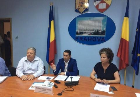 Sedinta la CJ Prahova, vineri. Se fac parteneriate cu mai multe localitati din judet