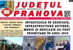 Realizarile recente ale Consiliului Judetean, cuprinse in paginile ziarului distribuit GRATUIT in Prahova