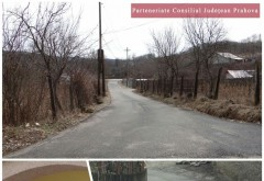"""Consiliul Județean Prahova, în parteneriat cu Consiliul Local Cărbunești, a finanțat proiectul """"Modernizare drumuri comunale în comuna Cărbunești"""""""