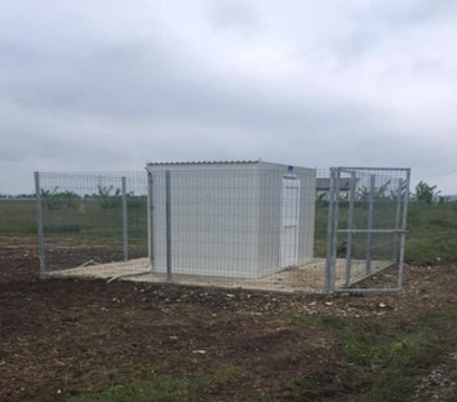 A fost montata o noua statie de monitorizare a calitatii aerului, in Ploiesti