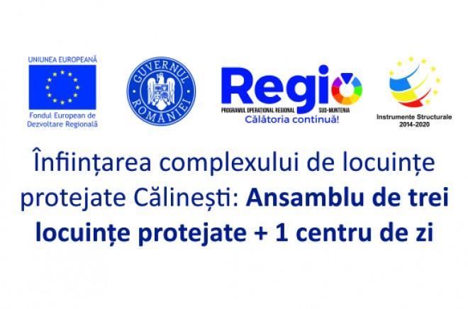 """Comunicat de presa - 31.05.2019 DGASPC Prahova anunta inceperea proiectului """"Înființarea complexului de locuințe protejate Călinești, județul Prahova, ansamblu de trei locuințe protejate + 1 centru de zi"""""""