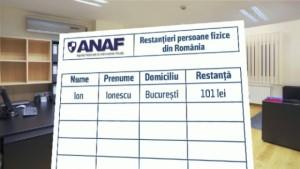 Surpriza de la ANAF. Ce este LISTA ALBĂ şi cum vor fi monitorizaţi datornicii