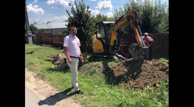 Au început lucrările la proiectul Alimentare cu apa în satele Buda și Palanca, Râfov