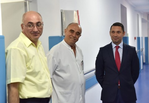 Standarde europene! Sectia Neurochirurgie a Spitalului Judetean Ploiesti a fost modernizata. Bogdan Toader a verificat noile conditii in care vor fi tratati pacientii