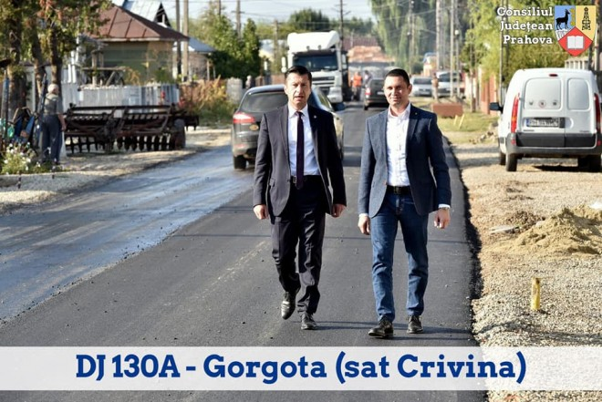 CJ Prahova si-a dus la bun sfarsit promisiunea: 97 de km de drumuri judetene au fost asfaltati