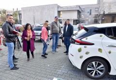 Cadou de la Consiliul Judetean Prahova: Stație de încărcare gratuită pentru vehicule electrice, in parcarea Palatului Administrativ