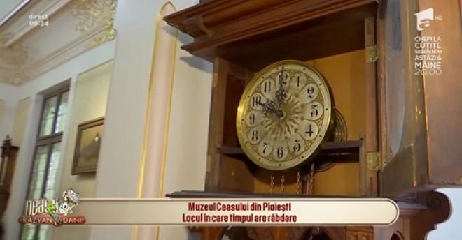 """Muzeul Ceasului, modernizat de Consiliul Judetean Prahova, prezentat de Antena 1 drept """"bijuteria Ploiestiului"""""""