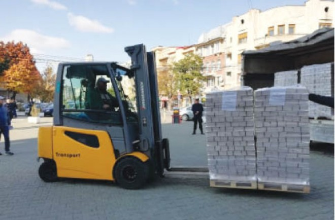 Buletinele de vot au ajuns la Ploiesti sub paza militarizata