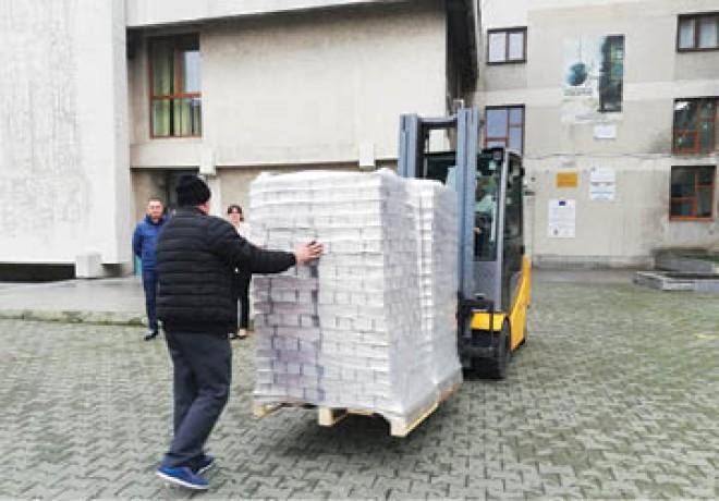 La Ploieşti au fost aduse buletinele de vot pentru turul al doilea al alegerilor prezidentiale