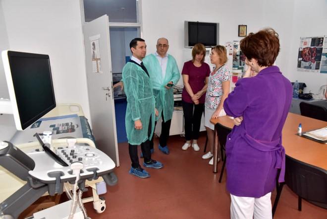 Bogdan Toader (CJ Prahova) anunt important: Continuam modernizarea Spitalului Judetean. Aparatura noua la Cardiologie, Interne si Nefrologie