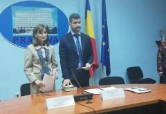 Cristian Ionescu, noul prefect al judetului Prahova, și Maria-Mihaela Duță, noul subprefect al judetului Prahova, au depus astăzi jurământul