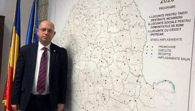 Exemplu de profesionalism: Ploieşteanul Andrei Ţurcanu şi-a încheiat mandatul de director ANL şi lasă în urmă proiecte pentru 5000 de locuinţe noi