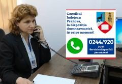 Număr unic la Consiliul Județean Prahova - 0244.920. Ce informatii puteti solicita