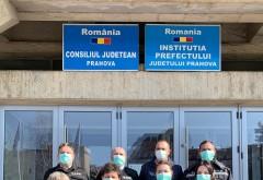 """Angajatii Consiliului Judetean Prahova, apel catre populatie: """"Noi suntem la munca pentru voi! Voi stati acasa pentru noi!"""""""