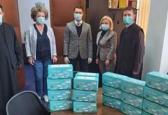 Consiliul Județean a donat măști voluntarilor care vor aduce lumină ploieștenilor în noaptea de Înviere