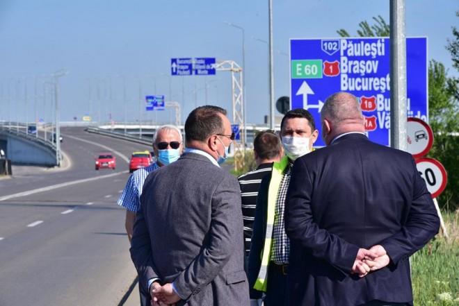CJ Prahova poate, Primaria Ploiesti, NU! S-au asfaltat mai multe drumuri judetene, inclusiv la intrarea in Ploiesti dinspre Paulesti