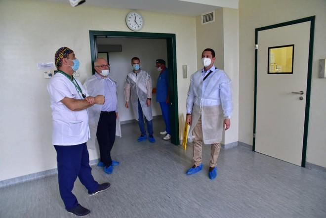 Maternintatea Ploiesti a devenit un spital in care intri cu drag. Presedintele CJ Prahova, in inspectie