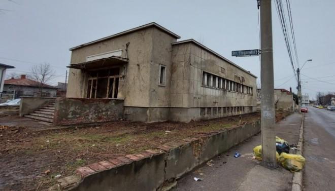 Cum arată fosta baie publică din Ploieşti şi care sunt noile planuri ale autorităţilor pentru acest imobil