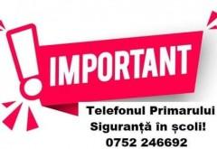 Linie telefonica directa cu Primaria Ploiesti pentru semnalarea lipsurilor din gradinite, scoli si licee. Vezi aici numarul la care poti suna