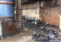 Garda de Mediu Prahova, reacție în urma incendiului de la Eco Burn: Au ars substanțe de laborator. Măsurătorile nu au indicat depășiri