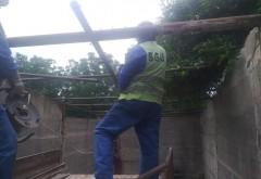 Ploiesti: SGU a inceput demolarea constructiilor ridicate ilegal, pe domeniul public