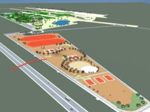 Bază sportivă ultramodernă, construită în Parcul Municipal Vest. Ploieştenii vor avea 12 TERENURI DE SPORT