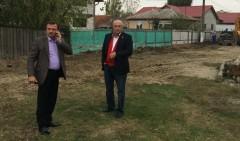 Presedintele CJ Prahova a verificat stadiul lucrarilor la reteaua de apa, in comuna Olari
