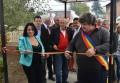 Mircea Cosma a inaugurat reţeaua de GAZE şi APĂ din satele Balta Doamnei şi Curcubeul FOTO