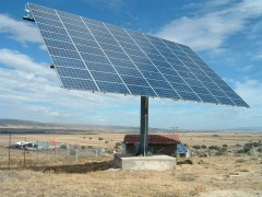 Parc de panouri fotovoltaice, realizat la Dumbrăveşti, din fonduri europene