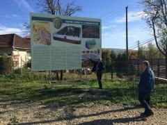 Mircea Cosma a vizitat Castrul roman de la Drajna