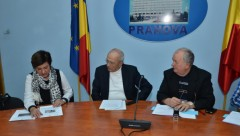Contractele de finanţare europeană pentru comunele Jugureni, Gornet și Ceraşu au fost semnate FOTO