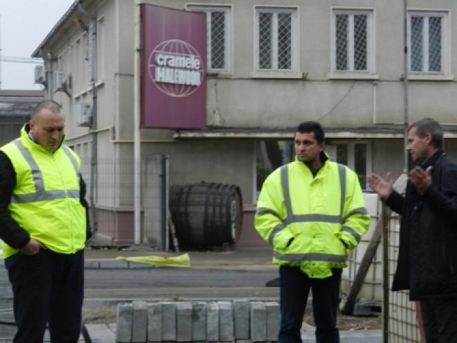 Primarul Bădescu, în inspecție pe șantierele din Ploiești FOTO