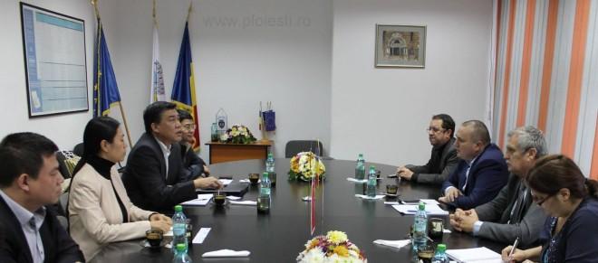 Delegaţie chineză, în vizită la primăria Ploieşti