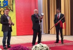 Delegaţie a CJ Prahova, la sărbătoarea oraşului Hânceşti. Mircea Cosma a primit titlul de OM EMERIT