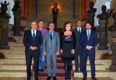 Mircea Cosma s-a intalnit cu americanii care organizeaza Festivalul România Broadway