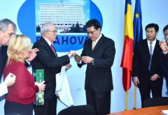 Mircea Cosma a primit vizita unei delegaţii din China