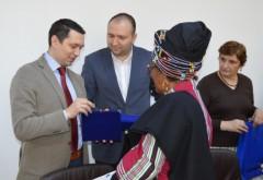 Vicepreședintele CJ Prahova, Bogdan Toader, întâlnire cu ambasadorul Africii de Sud