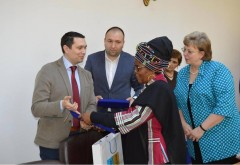 Vicepresedintele CJ Prahova, Bogdan Toader, intalnire cu ambasadorul Africii de Sud în România