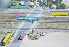 Construcția pasajului suprateran de la Gara de Vest începe săptămâna viitoare