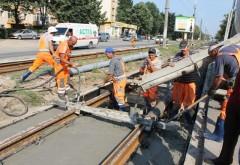 Vor fi finalizate primele lucrări la linia de tramvai din Ploiești. Află unde