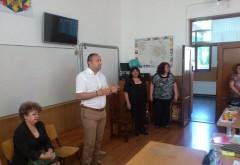 "Raul Petrescu a revenit in sala de clasa. Despre ce le-a vorbit viceprimarul elevilor de la Colegiul ""I.L. Caragiale"""