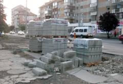 Lucrări de reabilitare a trotuarelor din Ploiești. Care sunt zonele unde se lucreză